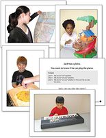 Image Autism & PDD Photo Cards Asking Questions