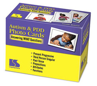 Image Autism & PDD Photo Cards Answering WHAT Questions
