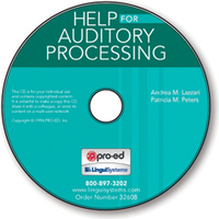 Image Handbook of Exercises for Language Processing HELP for Auditory Processing on C