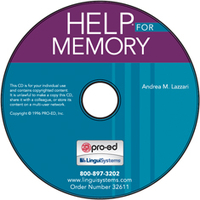 Image Handbook of Exercises for Language Processing HELP for Memory on CD