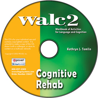 Image WALC 2 Cognitive Rehab on CD