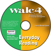 Image WALC 4 Everyday Reading on CD