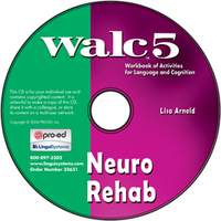 Image WALC 5 Neuro Rehab on CD