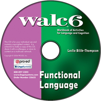 Image WALC 6 Functional Language on CD