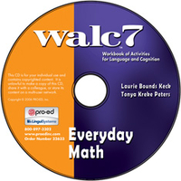 Image WALC 7 Everyday Math on CD