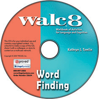 Image WALC 8 Word Finding on CD
