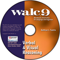 Image WALC 9 Verbal and Visual Reasoning on CD
