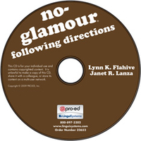 Image No-Glamour Following Directions on CD