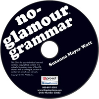 Image No-Glamour Grammar on CD