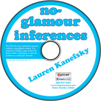 Image No-Glamour Inferences on CD