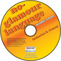 Image No Glamour Language Middle School on CD
