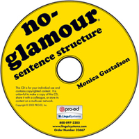 Image No-Glamour Sentence Structure on CD