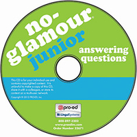 Image No-Glamour Junior Answering Questions on CD