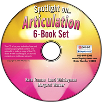 Image Spotlight on Articulation: 6-Book Set on CD