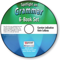Image Spotlight on Grammar: 6-Book Set on CD