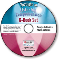 Image Spotlight on Listening Comprehension: 6-Book Set on CD