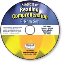 Image Spotlight on Reading Comprehension: 6-Book Set on CD