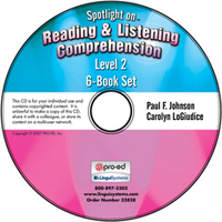 Image Spotlight on Reading & Listening Comprehension Level 2: 6-Book Set on CD