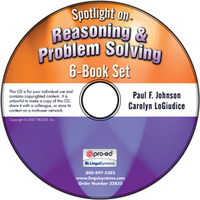 Image Spotlight on Reasoning & Problem Solving: 6-Book Set on CD