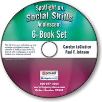 Image Spotlight on Social Skills Adolescent: 6-Book Set on CD