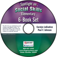 Image Spotlight on Social Skills Elementary: 6-Book Set on CD