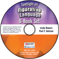 Image Spotlight on Figurative Language: 6-Book Set on CD