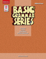 Image Basic Grammar Series Books - Adjectives