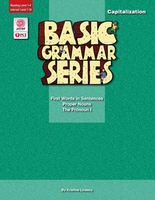Image Basic Grammar Series Books - Capitalization