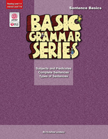 Image Basic Grammar Series Books - Sentence Basics