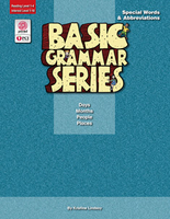 Image Basic Grammar Series Books - Special Words & Abbreviations