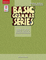 Image Basic Grammar Series Books - Prefixes Suffixes & Contractions