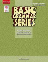 Image Basic Grammar Series Books - Prefixes Suffixes & Contractions