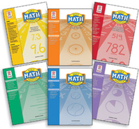 Image Basic Math Practice COMBO All 6 Books