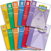 Image Basic Math - All 6 Practice & All 6 Assessment Books COMBO