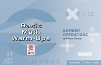 Image Basic Math Warm-Ups: Number Operations