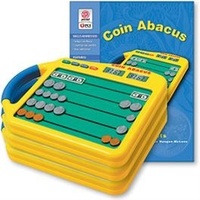 Image Coin Abacus 3-Pack & Coin Abacus Worksheets