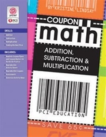 Image Coupon Math: Addition, Subtraction & Multiplication