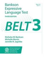 Image Bankson Expressive Language Test Third Ed. BELT-3