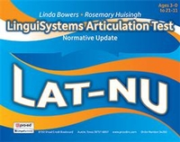 Image LinguiSystems Articulation Test - Normative Update LAT-NU