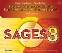 Image SAGES-3 Screening Assessment for Gifted Elementary