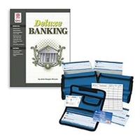 Image Deluxe Banking Set -Book & a Set of 10 Check Packets