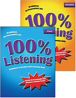Image 100% Listening 2-Book Set