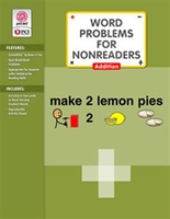 Image Word Problems for Nonreaders: Addition