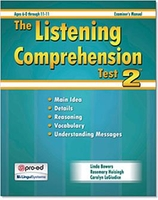 Image The Listening Comprehension Test 2 (LCT-2)