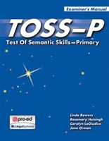 Image TOSS-P: Test Of Semantic Skills Primary