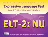 Image Expressive Language Test Second Edition Normative Update ELT-2: NU
