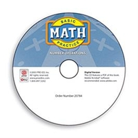 Image Basic Math Practice: Number Operations - Digital Version