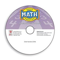 Image Basic Math Practice: Tables, Graphs and Charts - Digital Version