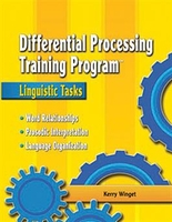 Image Differential Processing Training Program: Acoustic-Linguistic Tasks