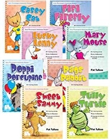 Image Early Phonological Awareness Stories: 8-Book Set
